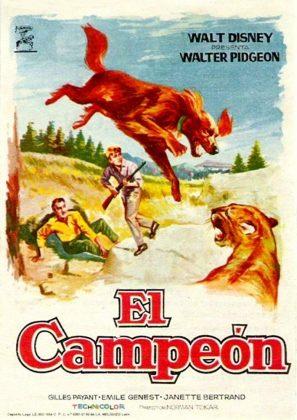 Affiche poster compagnon aventure big red disney