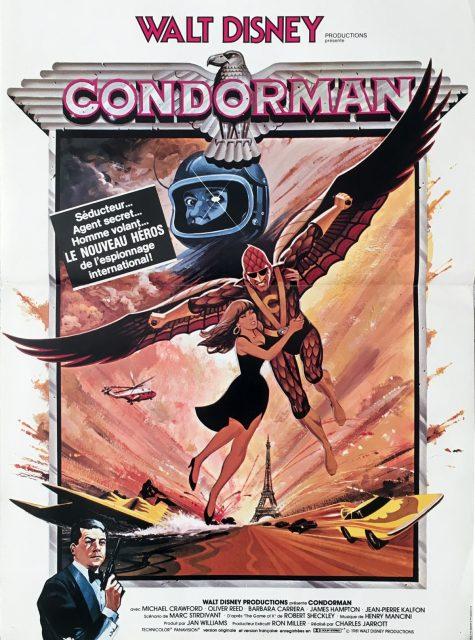 Affiche Poster condorman disney