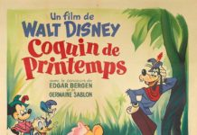 Affiche Coquin de printemps Disney Poster Fun and fancy free