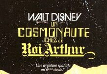 Affiche Poster cosmonaute roi arthur Unidentified Flying Oddball Spaceman king disney