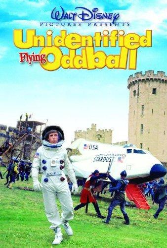 Affiche Poster cosmonaute roi arthur Unidentified Flying Oddball Spaceman king disney
