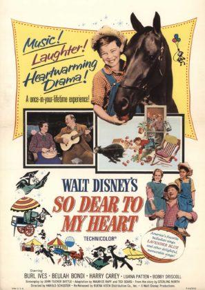 Affiche Danny le petit mouton noir Disney Poster So dear to my heart