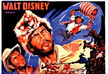 Affiche Poster davy crockett pirate rivière river disney