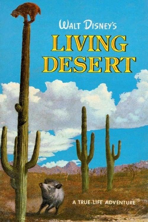 affiche poster désert vivant living disney