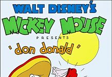 Affiche Poster don donald disney