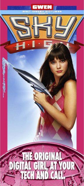Affiche Poster école fantastique sky high disney