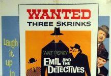 Affiche Poster émile détectives disney