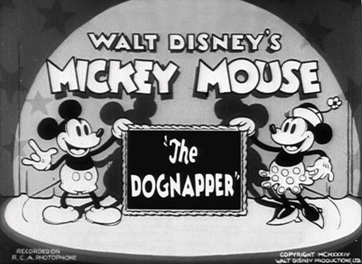 affiche enlevement chien walt disney animation studios poster dognapper