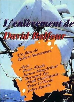 Affiche Poster enlèvement david balfour kidnapped disney