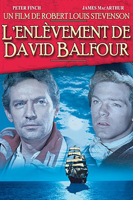 Affiche Poster enlèvement david balfour kidnapped disney