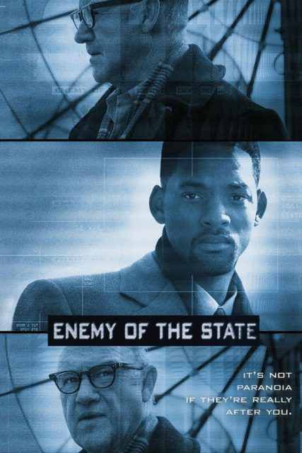 Affiche Poster Ennemi état ennemy state disney touchstone
