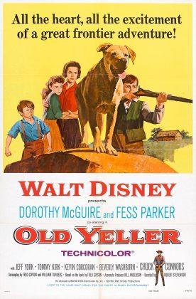 Affiche Poster fidèle vagabond old yeller disney