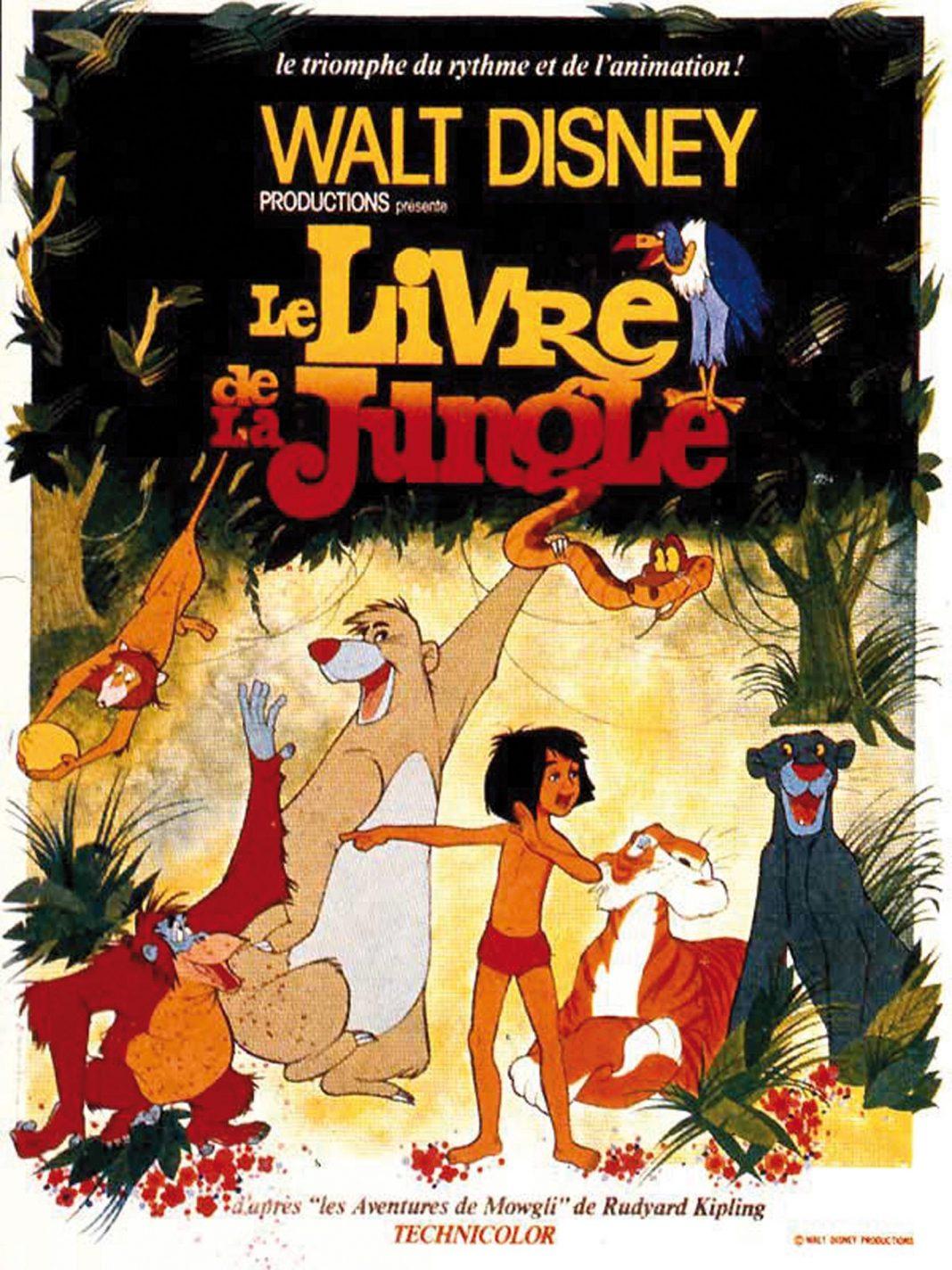 disney le livre de la jungle book affiche poster