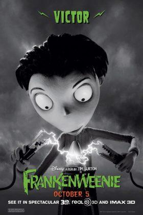 Affiche Poster Frankenweenie Disney