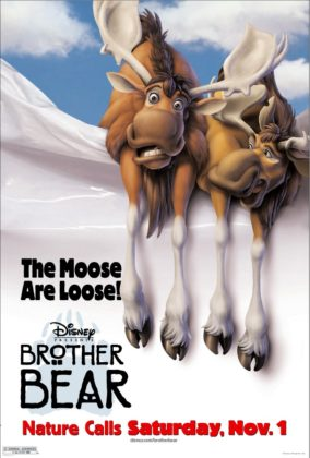 Affiche Frère des ours Disney Poster Brother bear