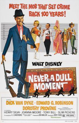 Affiche Poster frissons garantis never dull moment disney