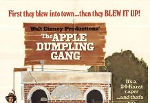 Affiche Poster gang chaussons pommes apple gang dumpling disney