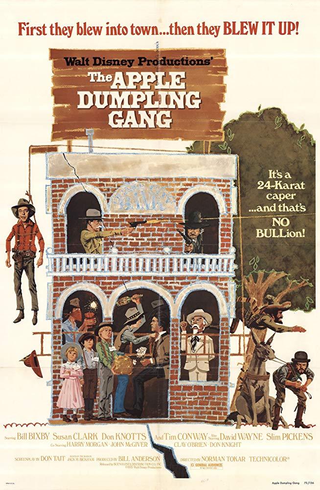 Affiche Poster gang chaussons pommes apple gang dumpling disney