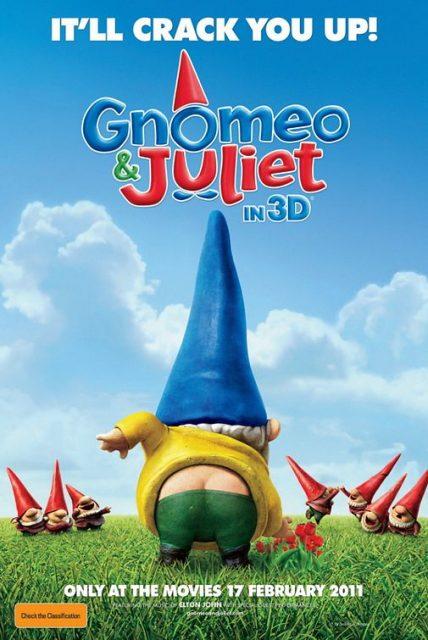 Affiche Poster Gnoméo Juliette Disney Touchstone Miramax