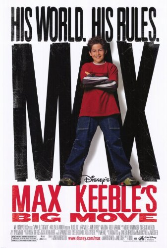 Affiche Poster grand coup max keeble big move disney