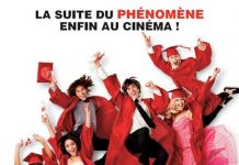 Affiche Poster high school musical 3 années lycée senior year disney