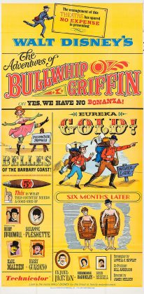Affiche Poster honorable griffin Adventures Bullwhip disney