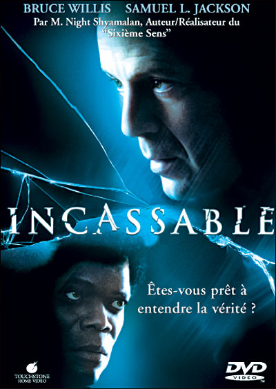 Disney Touchstone unbreakable affiche-incassable