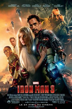 Affiche Poster Iron Man 3 Disney Marvel