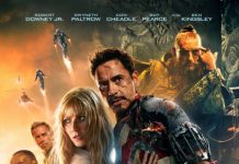 iron man 3 Marvel Disney poster affiche