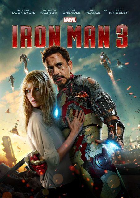 Affiche Poster Iron Man 3 Disney Marvel