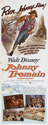 Affiche Poster Johnny tremain disney