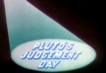 affiche jugement pluto walt disney animation studios poster pluto judgement day