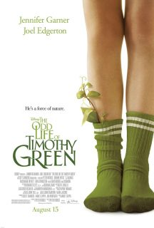 Affiche Poster drole vie timothy green odd life disney
