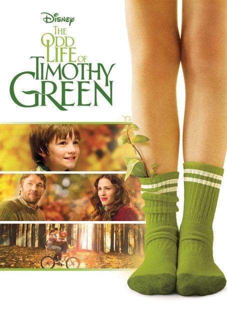 Affiche Poster drole vie timothy green odd life disney