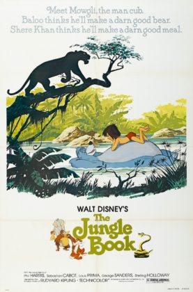 Affiche Le livre de la jungle Disney Poster The jungle book