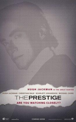 Affiche poster Le prestige disney touchstone
