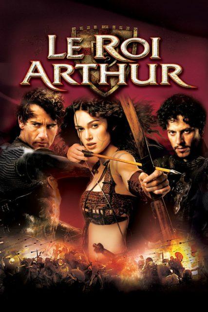 Affiche Poster le roi arthur king disney touchstone
