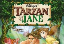 affiche legende tarzan jane walt disney television animation