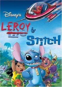 affiche leroy stitch walt disney television animation poster