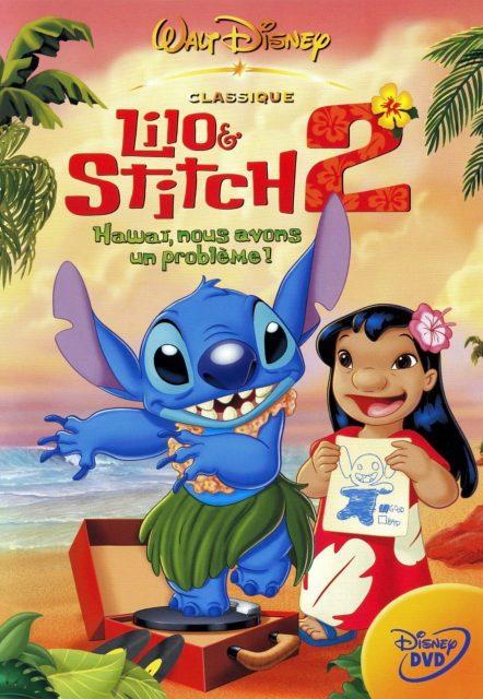 Affiche Poster lilo stitch 2 glitch hawai probleme disney disneytoon