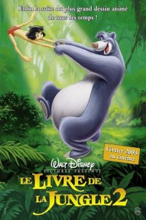 affiche poster livre jungle book 2 disney
