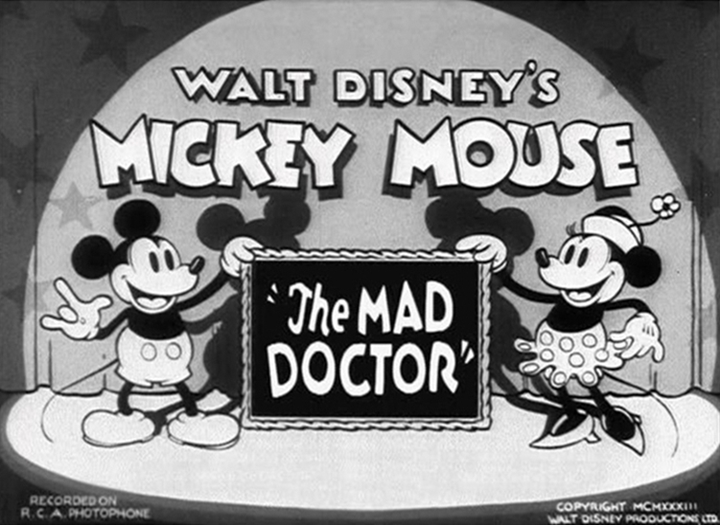 affiche mad doctor walt disney animation studios poster