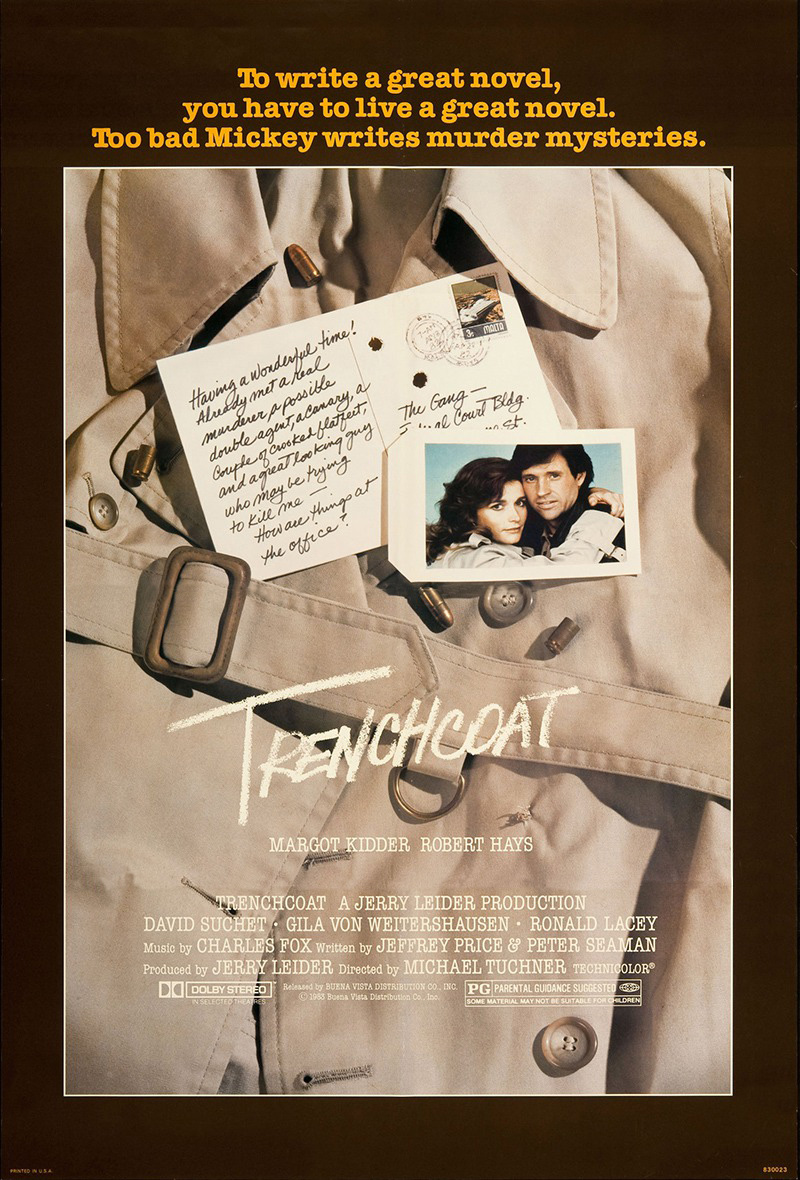 Affiche Poster meurtres malte trenchcoat