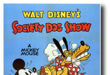 affiche mickey exposition canine walt disney animation studios poster society dog show