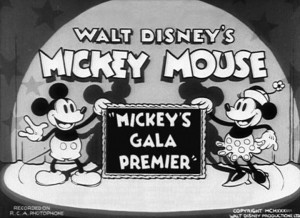 affiche mickey gala premier walt disney animation studios poster