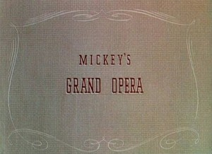 affiche mickey grand opera walt disney animation studios poster