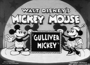 affiche mickey gulliver walt disney animation studios poster gulliver mickey
