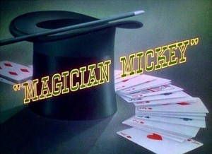 affiche mickey magicien walt disney animation studios poster magician mickey
