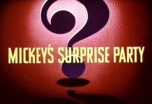 affiche mickey surprise partie walt disney animation studios poster mickey surprise party
