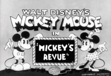 affiche micley theatre walt disney animation studios poster mickey revue